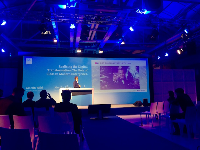 AGENTUR GERHARD - hub conference 15: Blue Stage Media Saturn Digital Transformation