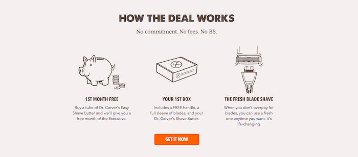 Dollar Shave Club - How it works