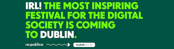 re:publica Dublin 2016