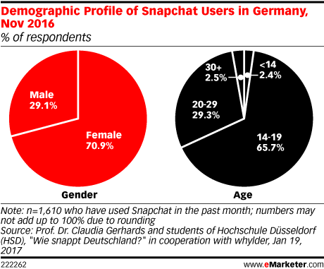 Demographic Profile of Snapchat Users in Germany