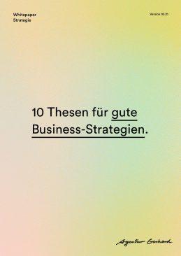 Business Strategie Thesen